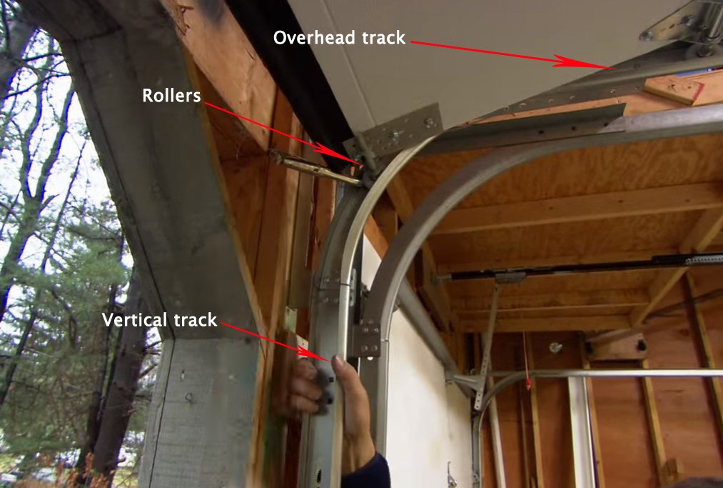 Garage Door Track : Resolving garage door track issues doors repair