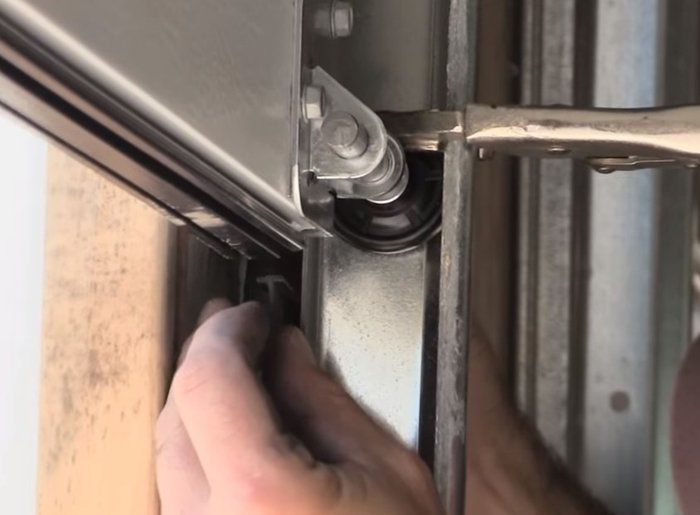How To Replace Garage Door Weatherstripping Garage Doors Repair